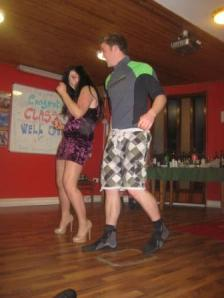 Louise and Declan take to the floor