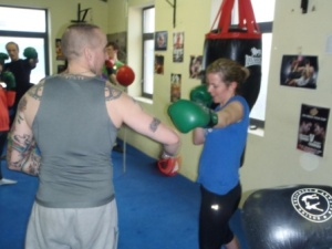 Fiddy puts Bairbre through the paces