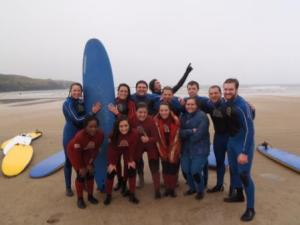 Belmont College and some of OITC on the beach